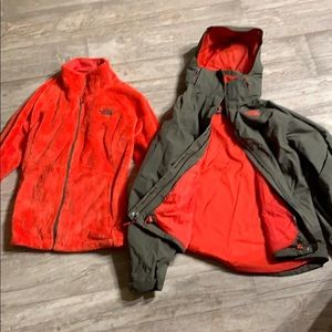 The North Face Dual Winter Jacket & Fleece Large